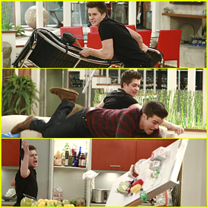 Chase Flips Out At Adam On Special 'Lab Rats' Episode - See The Pics!