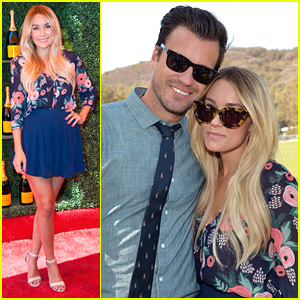Newlyweds Lauren Conrad & William Tell Cozy Up At Polo Classic