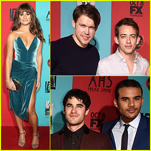 Lea Michele Brings 'Glee' Presence To 'American Horror Story: Freak Show' Premiere