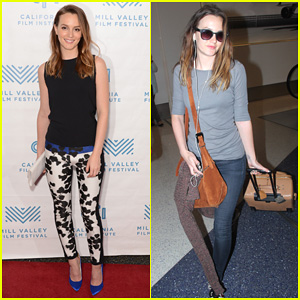 Leighton Meester Is A Sophisticated Lady for 'Like Sunday, Like Rain' Premiere in Mill Valley!