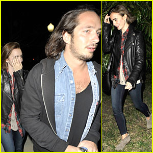 Lily Collins & Photographer Matt Easton Are Sam Smith Concert Goers!