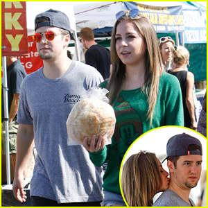 New Couple Alert! Logan Henderson & Makenzie Vega Pack on the PDA While Shopping!
