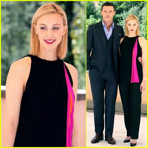 Sarah Gadon's 'Dracula' Co-Star Luke Evans Gets Hilariously Photobombed