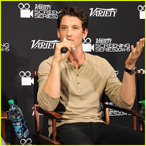Miles Teller Wants You to Stay in School!