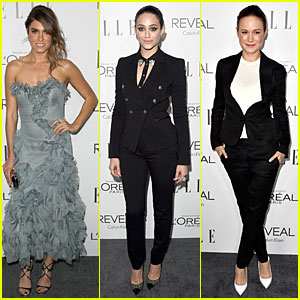 Nikki Reed & Emmy Rossum Bring Their Beauty to Elle Women in Hollywood Celebration