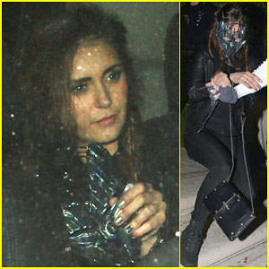 Nina Dobrev Reveals That She is a 'Snaughler'
