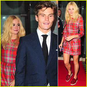 Pixie Lott & Oliver Cheshire Hit Up Jonathan Shalit's OBE Party