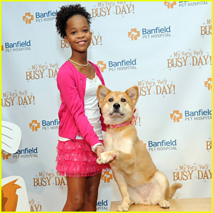Quvenzhane Wallis Reads 'My Very, Very Busy Day' At Children's Museum of Manhattan