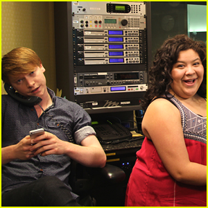 Raini Rodriguez & Calum Worthy Take Over Radio Disney For The Day