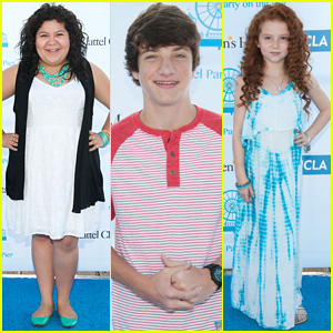 Raini Rodriguez & Jake Short Bring the Fun to Mattel's Party On The Pier 2014