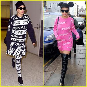 Rita Ora & Boyfriend Ricky Hilfiger Say Goodbye to England