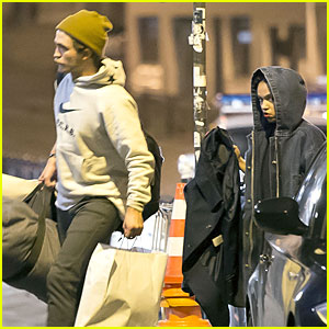 Robert Pattinson & FKA twigs Shop Till They Drop in Paris