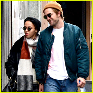 Robert Pattinson Holds Hands with Girlfriend FKA twigs On a Romantic Stroll!