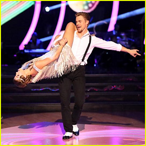 Sadie Robertson & Derek Hough Defy Gravity with 'DWTS' Charleston - See the Pics!