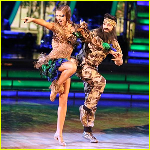 Sadie Robertson & Mark Ballas Samba into 'Duck Dynasty' - See the Pics!