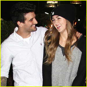 Sadie Robertson & Family Support Mark Ballas At His Concert