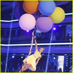 Sadie Robertson Flies Away on Balloons During Viennese Waltz on 'DWTS' - See the Pics!
