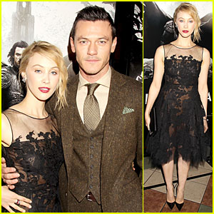 Sarah Gadon Loved All Her 'Dracula Untold' Scenes With Luke Evans!