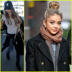 Sarah Hyland Shows Her Love for Animals in New York City
