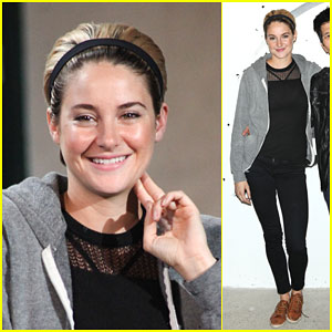 Shailene Woodley Takes the Stage at AOL's Build Speaker Series