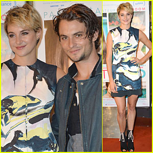 Shailene Woodley Rocks Blonde Hair at 'White Bird in a Blizzard' Paris Premiere!