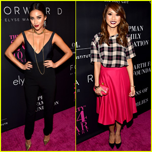 Shay Mitchell & Brenda Song are Pretty Ladies at the Pink Party