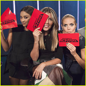 Shay Mitchell Guest Judge's On Tonight's 'Project Runway'