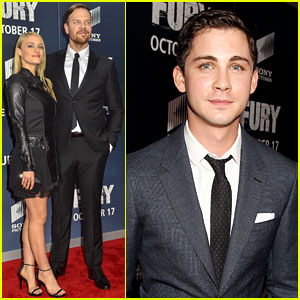Logan Lerman & Leven Rambin Have a 'Percy Jackson' Reunion in DC!