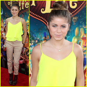 Sofia Reyes Fell in Love with 'The Book of Life'