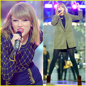 Taylor Swift Performs on 'Good Morning America' & Teases a '1989' Tour - Watch Here!