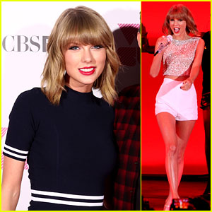 Watch Taylor Swift's Reaction to Being Asked About '1989' Leaking!