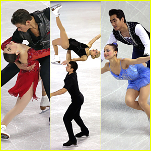 Pairs Skaters Haven Denney & Brandon Frazier Heat Up Skate America 2014