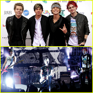 5 Seconds of Summer Win Song of the Year for 'She Looks So Perfect' at ARIA Awards 2014 - Watch Their Performance Now!