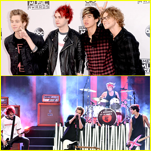 5 Seconds of Summer Wins Best New Artist of the Year & Performs 'What I Like About You' at American Music Awards 2014 - Watch Here!