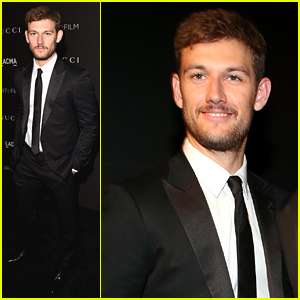 Alex Pettyfer Brings the Handsome Factor to LACMA Art + Film Gala!