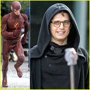 Spoilers! First Look At Andy Mientus As 'The Flash's Pied Piper!
