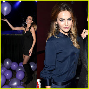 AnnaLynne McCord Has a Blast with Balloons at Just Jared's Homecoming Dance!