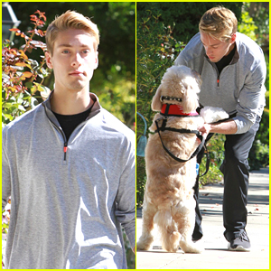 Austin North Walking His Dog Is The Cutest Thing You'll See Today