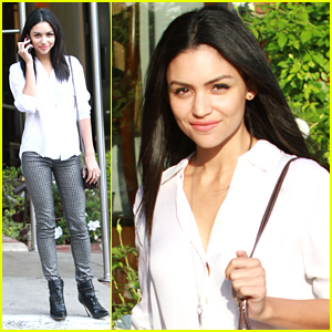 Bianca Santos Makes It A Meeting Day In Los Angeles