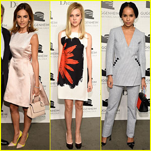 Camilla Belle & Nicola Peltz Represent Young Hollywood at the Guggenheim International Gala Pre-Party