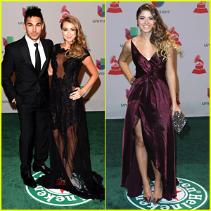 Carlos & Alexa PenaVega Stun At Latin Grammy Awards 2014 With Sofia Reyes