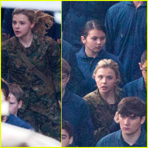 Chloe Moretz & Nick Robinson Get to Work on 'The 5th Wave'
