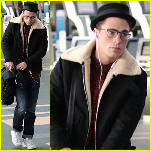 Colton Haynes Is Looking Very Cute Wearing His Eyeglasses