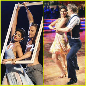Derek Hough Goes Shirtless for 'DWTS' Routine with Bethany Mota - See the Pics!