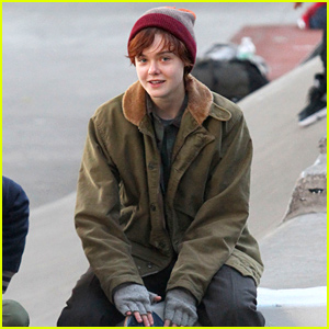 Elle Fanning Looks Completely Different On Set as a Transgender Teen