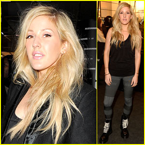Ellie Goulding Looks 'Starry Eyed' at H&M x Alexander Wang Launch