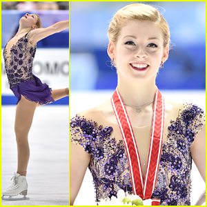 Gracie Gold Takes Gold Medal At NHK Trophy in Japan!