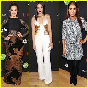 Hayley Orrantia & Edy Ganem Glam Up Latina's 30 Under 30 Party