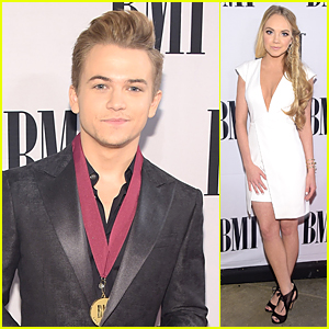 Hunter Hayes is Proud to Wear Medallion at BMI Country Awards