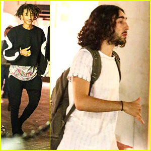 Jaden Smith Hangs With 'Kickin' It's Mateo Arias